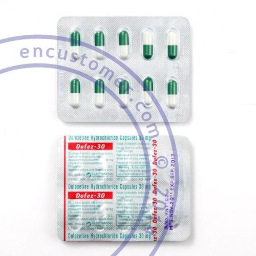Comprar Duloxetina (Cymbalta genérico) en linea