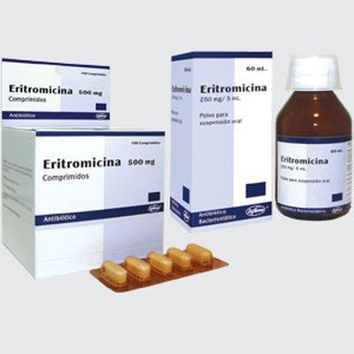 Ilosone 500 Eritromicina
